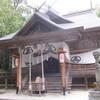 秋川渓谷「阿伎留~城山~石舟橋」紅葉狩り(2)阿伎留神社。