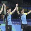 「3人の天才」海外修行で頭角 卓球男子、メダル確定