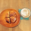 11月限定ナッツ&カカオニブベーグルを下高井戸のカフェウララカでイートイン。季節のドリンク甘ーいショコラチャイと合わせていただきました!