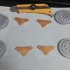 3Dプリントしたガルーダ天球儀を塗装してみた(その2)