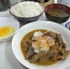 木更津 市場食堂 もつ煮定食の日