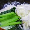 8月1日(日)昼食のラーメンと、夕食のカキ。
