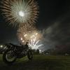 桜とバイクが撮りたくて3+花火も