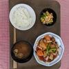 本日の社食「酢豚定食」
