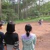 5年生:林間学習2日目⑨ ファイヤーのリハ、ダンスの練習