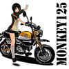 モンキー 125(Monkey 125)が気になる!グロムとの違いは?東京モーターショーでじっくり見てきた!