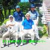 8月22日 お盆を過ぎても暑い夏。8月1日以来のゴルフの35度過ぎの暑い日でした。