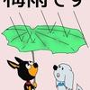 雨に濡れた犬は何故臭い?