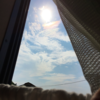 太陽が舞い上がってるみたいな空など、最近の空