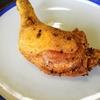 【1本74円】骨付き鶏もも肉の素から揚げレシピ~超簡単!塩胡椒→素揚げでパリパリで冷めても美味しい~