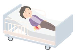 褥瘡(じょくそう)の原因と予防方法とは