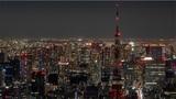 【神秘的】闇夜に溶ける東京タワー