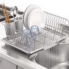食器洗い乾燥機を使わない選択肢ならこれ パール金属 食器 水切り かご 水が流れる トレー付 アルデオ HB-4066