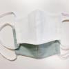 ダイソー資材と無料型紙を利用して、布マスクを作った