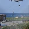落下事故の原因公表もまだなのに、なぜ米軍は読谷でヘリ吊り下げをくりかえすのか !  今度はフォークリフトだ。