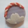かわいい和菓子(季節の上生菓子) 「うたげ」:菊家 山種美術館「桜2018」