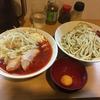 豚星。@元住吉の辛麺(つけ麺)