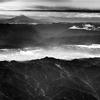旅の始まり・・旅の空から富士山が 🗻