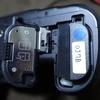 カメラ用バッテリーの識別方法。
