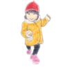 産後PMSが酷いのでむすめ絵を描きました「むすめコーディネート2016A/W」