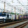 9月25日撮影 東海道線 平塚~大磯間 貨物列車3075ㇾ HM付ゼロロク5095ㇾ 2079ㇾ