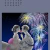 イラスト・カレンダー【8月】