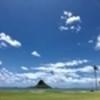 クアロアビーチパークから見るチャイナマンズハット