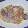 ブリとエノキのポン酢炒め ヘルシオホットクックで自炊(93)