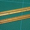 米国型モーガルを作る(46)8550テンダー台枠のリベット打ち直し