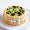 ぶどうのシャルロットケーキの作り方