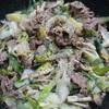 下仁田ネギを使った料理何かある?下仁田ネギと牛肉の中華風炒め煮!