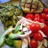 鶏ハム野菜ワンプレート