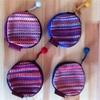 プレゼントや、自分用に!まるくてかわいい手織りの小銭入れ
