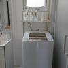 洗濯機まわりをダイソーとコーナンの2つの材料合計700円ですっきりさせました