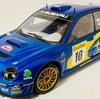 Autoart  1/18  SUBARU  Impreza  WRC  2002