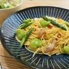 簡単!!ベーコンと春野菜のペペロンチーノの作り方/レシピ