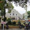 ルソン山紀行(51)ビガン、ブルゴス広場周辺で。