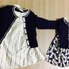 双子の楽しい洋服選び