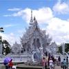 放浪23日目-チェンライの白い寺。ワットロン・クン。