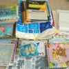 本棚を整頓する。次は子供の書類。