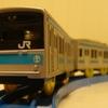 プラレール「S-33 205系通勤電車スカイブルー」(東海道緩行線)