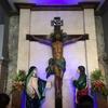 【セブ旅】サントニーニョ教会の赤きろうそく