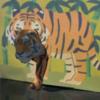 虎を屏風から出すAR