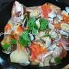 冷蔵庫の片づけ、余った野菜を使って10分で仕込み完了!フライパンでできる簡単アクアパッツァ、一石二鳥のレシピと作り方