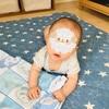 寝返り習得後、息子のかわいさが5割増しに!!!ついでに寝かしつけの難易度も5割増しになりました。