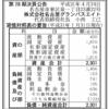 株式会社名古屋グランパスエイト 第28期決算公告