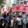 韓国の反応, 「ほれ見ろ、旭日旗は憎悪の象徴だ」嫌韓デモではためく旭日旗に良識ある日本市民が苦言