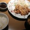 【やよい軒】鶏もも一枚揚げ定食(にんにく醤油) ¥890