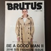 BRUTUS 2016 S/S FASHION ISSUE