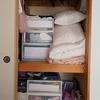 【子どもと片付け】和室の押入れの全出し→収納し直しました(2日目)こどものおもちゃを押入れに集約。客用敷き布団を捨てました。